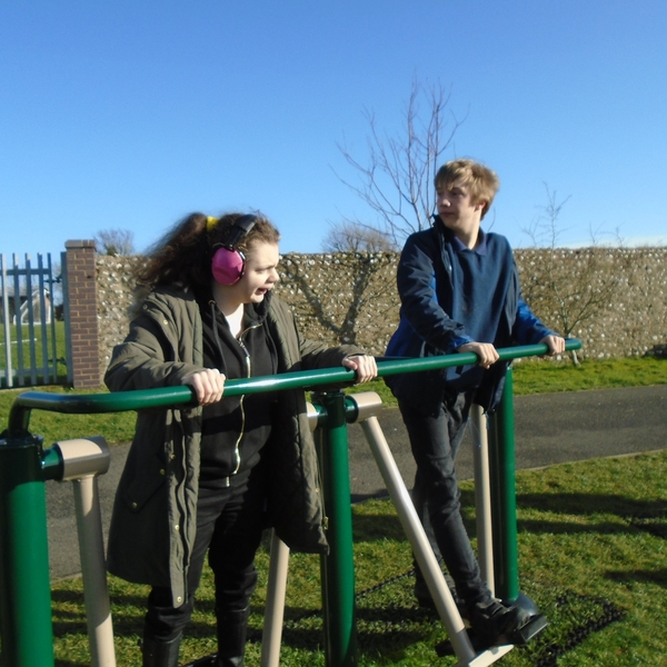 Accessible Exercise Equipment for Downs View Pupils